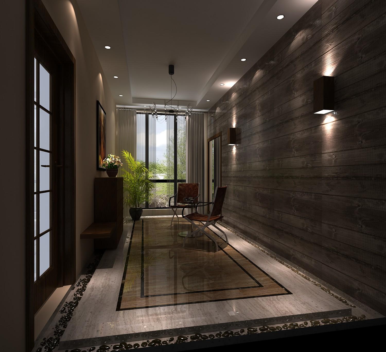 中建桐梓林 高度国际 装修设计 成都装修 装修公司 玄关图片来自成都高度国际在中建桐梓林壹号-128㎡-托斯卡纳的分享