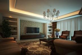 别墅 新古典 舒适 客厅图片来自石家庄业之峰装饰虎子在紫云阁-别墅-330平米新古典风格的分享