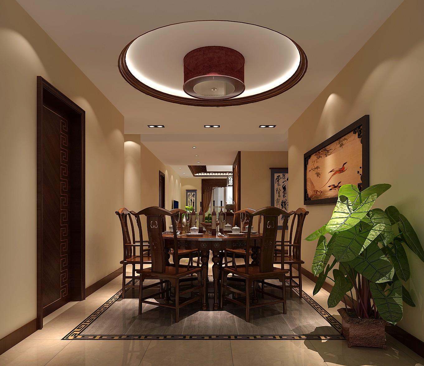 中式风格 装修设计 高度国际 餐厅图片来自成都高度国际在泰悦湾-180㎡-中式古典风格的分享