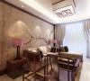 本案为芳馨园楼标准层户型2室2厅1卫1厨100㎡的户型。这次的设计风格定义为中式风格。