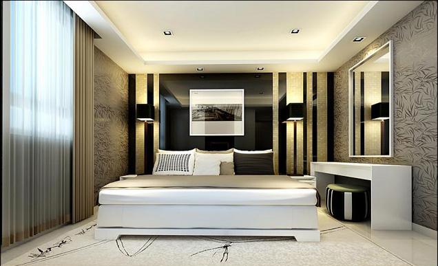 简约 二居 白领 收纳 旧房改造 卧室图片来自bjsdgjzs在【尚都国际装饰】东大桥小区的分享