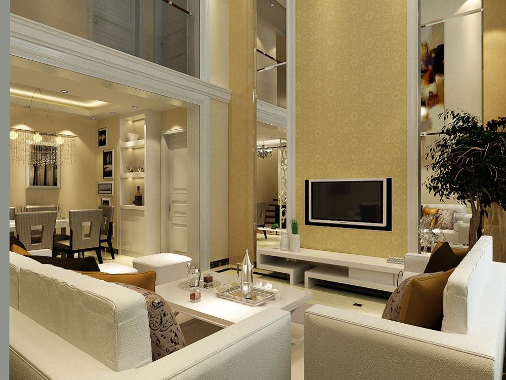客厅图片来自tjsczs88在中铁国际城-简约的分享