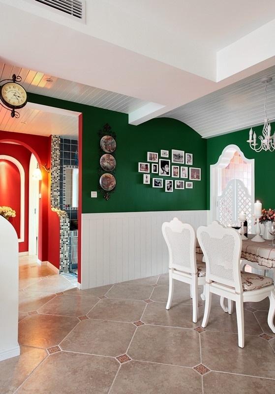 田园 三居 80后 loft 餐厅图片来自沪上名家装饰在宁静de田园--海悦华庭的分享