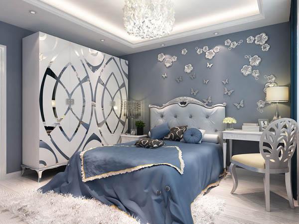 欧式 古典欧式 一居 和谐 小资 卧室图片来自YI依帆2012在世界城年轻欧式风格案例赏析的分享