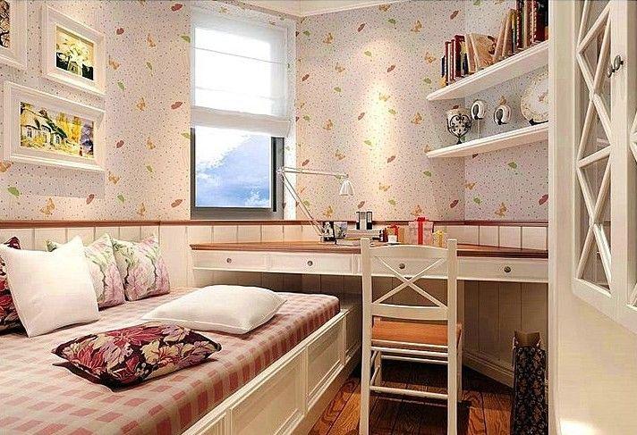 田园 二居 白领 收纳 旧房改造 80后 小资 卧室图片来自名仕装饰-小飞在中建福地星城-田园风格-二居室的分享