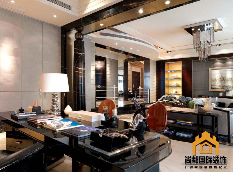 现代简约 四居 收纳 小资 书房图片来自bjsdgjzs在北京尚都国际装饰.星河湾小区的分享