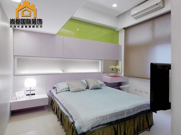 简约 混搭 三居 收纳 旧房改造 卧室图片来自bjsdgjzs在【尚都国际装饰】世界城设计案例的分享