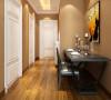 屋内的墙体使用奶咖色乳胶漆是整体空间更加明亮通透。整体空间布局合理采光良好。