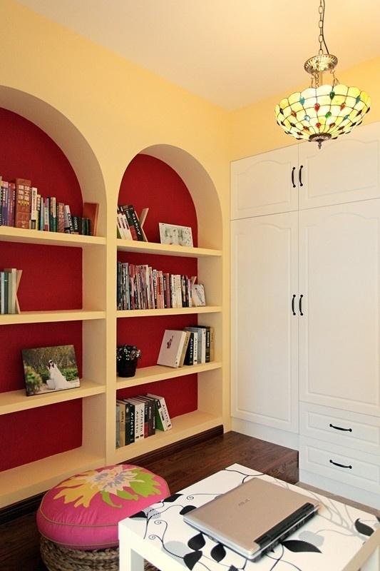 田园 三居 80后 loft 书房图片来自沪上名家装饰在宁静de田园--海悦华庭的分享