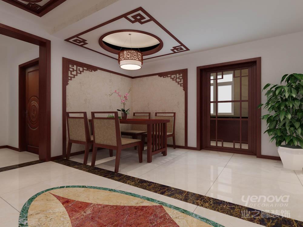 136平 三居 雅仕兰庭 餐厅图片来自天津业之峰装饰在雅仕兰庭136平新中式三居室的分享