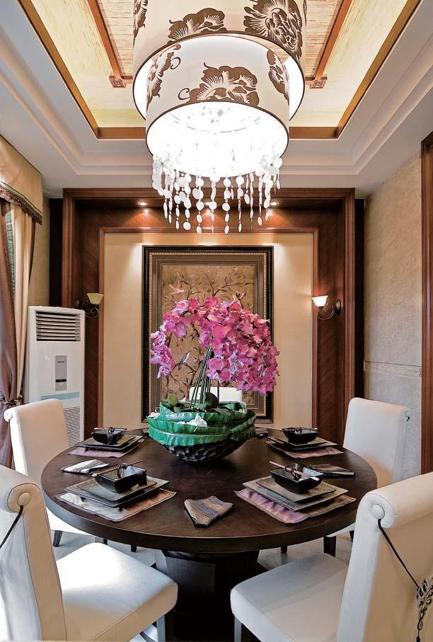 简约 别墅 装修设计 慕尚家居 海伦春天 餐厅图片来自慕尚族在海伦春天的分享