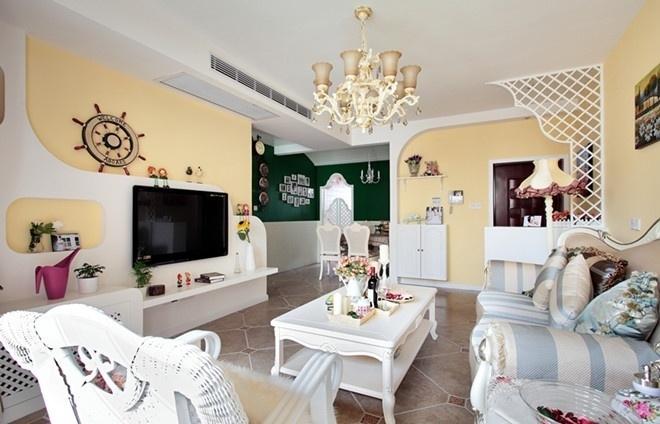 田园 三居 80后 loft 客厅图片来自沪上名家装饰在宁静de田园--海悦华庭的分享