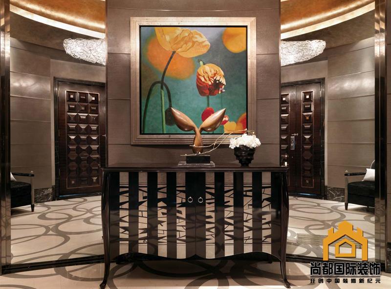 现代简约 四居 收纳 小资 玄关图片来自bjsdgjzs在北京尚都国际装饰.星河湾小区的分享