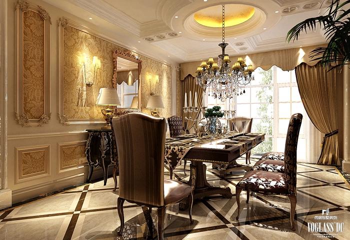 法式 别墅 客厅图片来自尚层别墅装饰总部在雅致法式你见过吗?的分享
