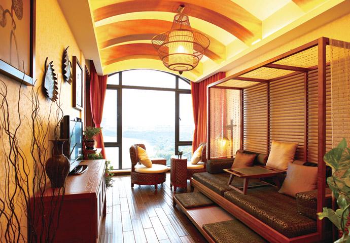 东南亚风格 业之峰装饰图片来自业之峰装饰汇巢室内设计工作室在东南亚自由灵动飘逸空间的分享