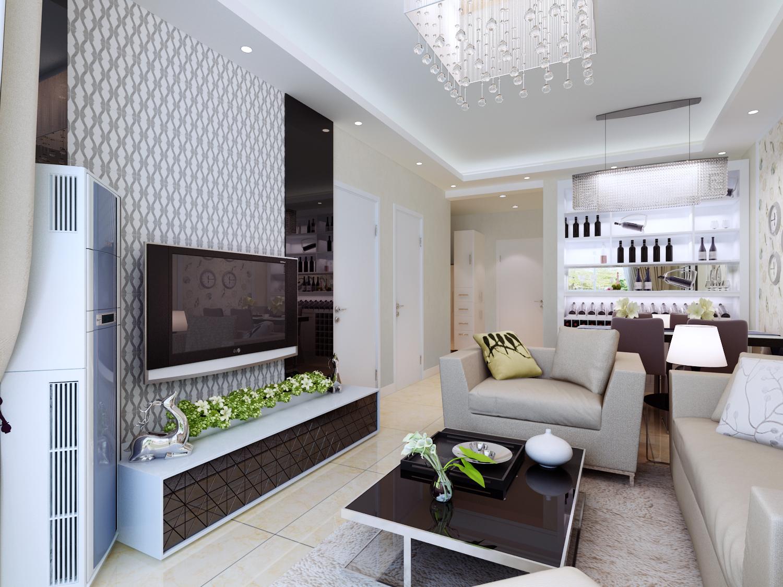 百家装饰 环保装修 半包装修 优惠活动 客厅图片来自张竟月在步阳国际90平现代风格的分享