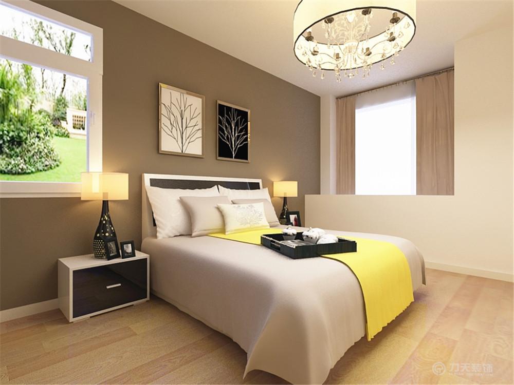 简约 二居 白领 收纳 80后 小资 卧室图片来自阳光力天装饰在金融街-76.96㎡-现代简约的分享