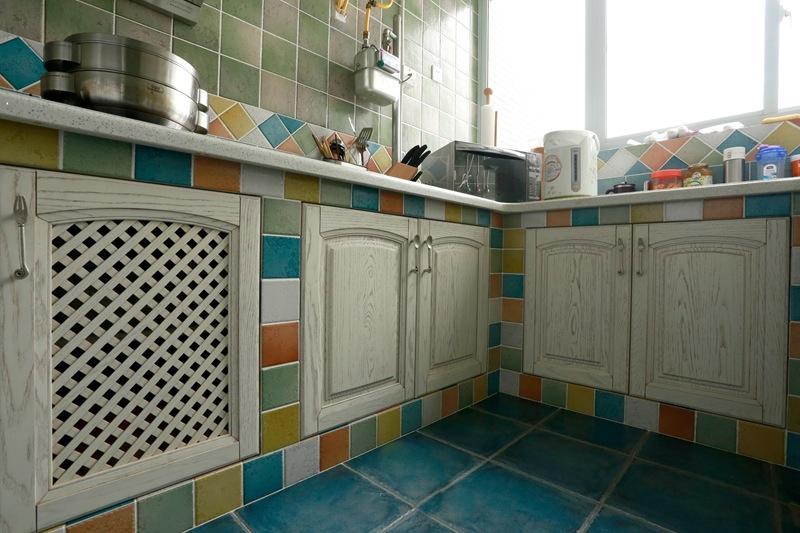 简约 美式乡村 舒适 温馨 时尚 大气 厨房图片来自成都生活家装饰在87平简约时尚2居室美式风格的分享