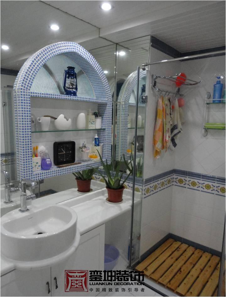 三居 收纳 小资 地中海 卫生间图片来自銮坤装饰设计在金都汉宫---地中海风的分享