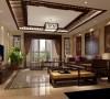 客厅效果细节图 成都高度国际装饰设计