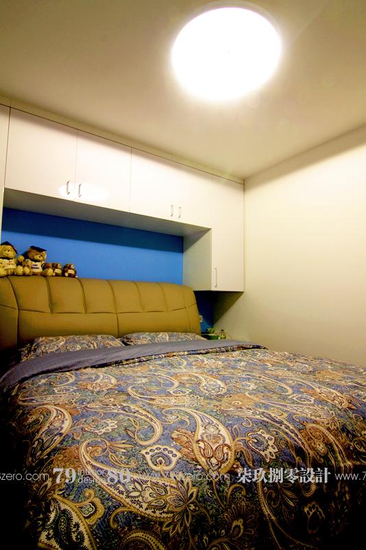 简约 二居 旧房改造 七九八零 80后 卧室图片来自七九八零设计工作室在时尚简约风 之七九八零旧房改造的分享
