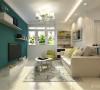 由于此户型较小,不适合过多的造型,而为了兼顾室内采光的需求,在色彩上适宜明亮的感觉,所以此次设计风格定位为现代简约。