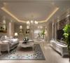 乳白色的沙发以及各种柜子的搭配有一种美的质感,绿色植物的点缀更是增添了环保的理念,沙发背后的挂画让生机重现整个家庭,一副生机盎然的画面呼之欲出。