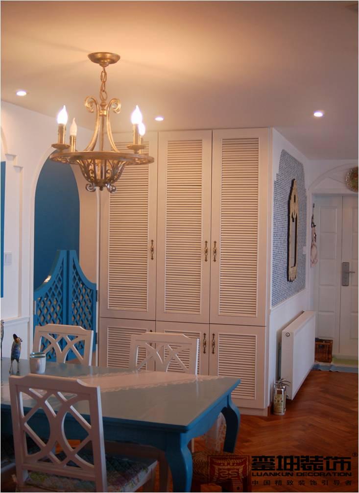 三居 收纳 小资 地中海 餐厅图片来自銮坤装饰设计在金都汉宫---地中海风的分享