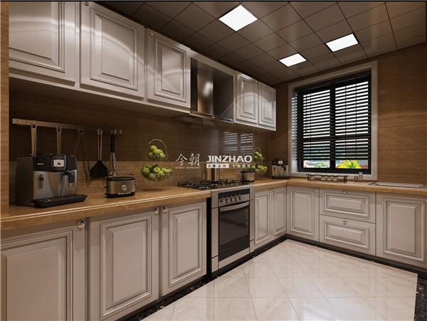 三居 欧式 收纳 旧房改造 80后 小资 西安今朝 今朝装饰 厨房图片来自西安今朝装饰设计有限公司在棕榈阳光简欧时尚的分享