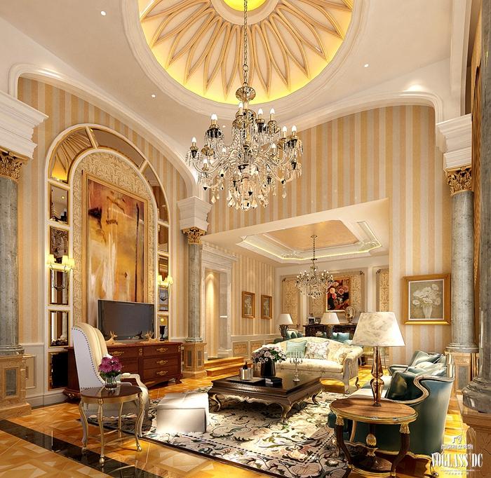 法式 别墅 厨房图片来自尚层别墅装饰总部在雅致法式你见过吗?的分享