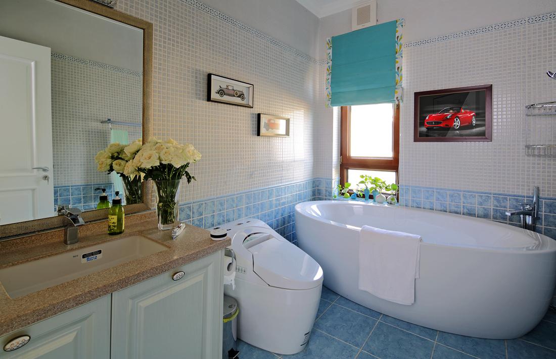 欧式 别墅 白领 尚层装饰 卫生间图片来自北京别墅装修案例在700平简欧风格案例欣赏的分享