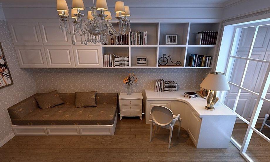 简约 三居 白领 收纳 旧房改造 80后 小资 书房图片来自名仕装饰-小飞在越秀星汇云锦简约实用设计的分享