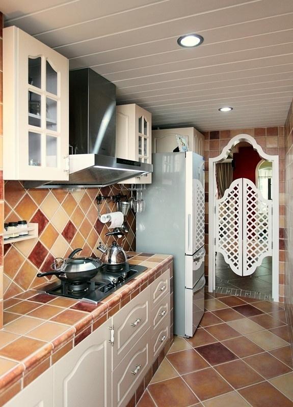 田园 三居 80后 loft 厨房图片来自沪上名家装饰在宁静de田园--海悦华庭的分享