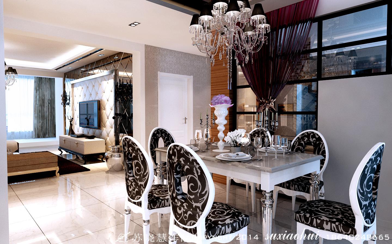 欧式 三居 餐厅图片来自百家装饰小王在新加坡城124平的分享