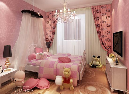 简约 欧式 混搭 三居 白领 80后 儿童房图片来自原创艺墅装饰安琪在东亚逸品阁,温馨舒适简欧风格。的分享