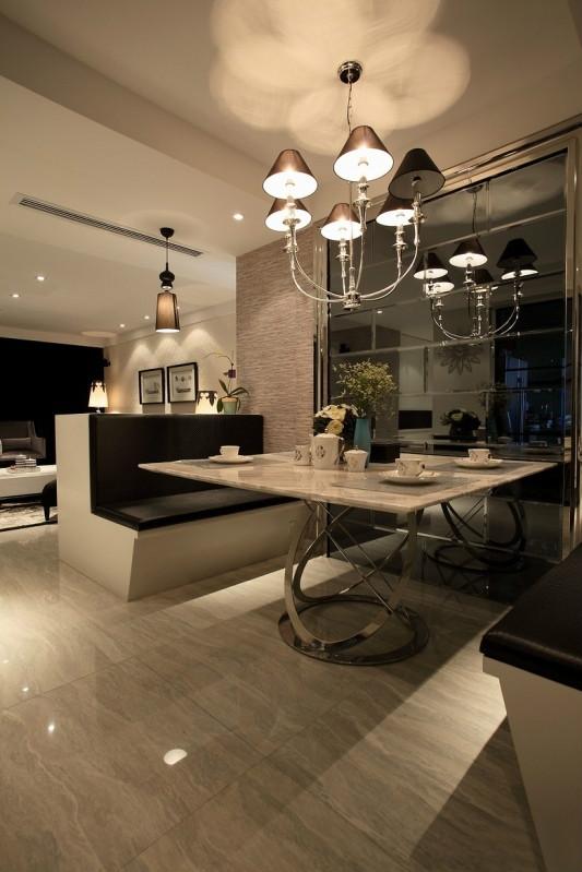简约 二居 白领 收纳 旧房改造 餐厅图片来自bjsdgjzs在【尚都国际装饰】光华里设计的分享
