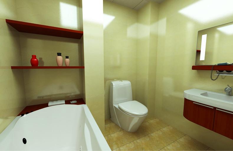 三居 旧房改造 鼓楼东区 白领 中式 卫生间图片来自今朝装饰老房装修通王在鼓楼东区-现代中式的分享