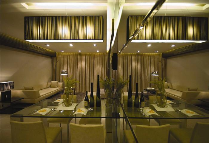 欧式 客厅图片来自天津尚层装修韩政在旭辉御府别墅的分享