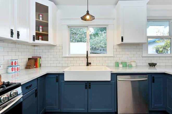 欧式 简约 三居 厨房图片来自实创装饰晶晶在小上海新城132平三居北欧雅居的分享