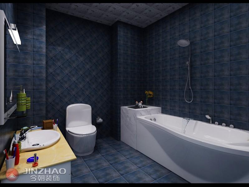 简约 卫生间图片来自阿布的小茅屋15034052435在和泰紫园168平米-现代简约的分享