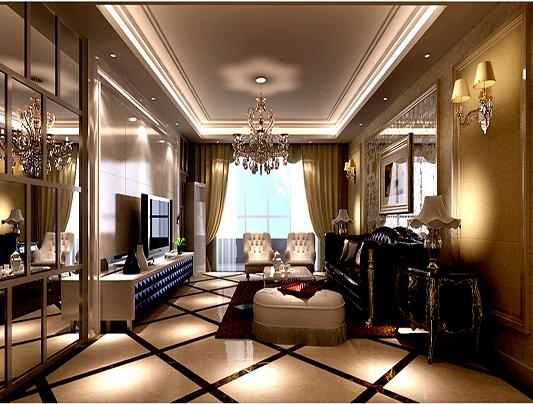 二居 欧式 收纳 旧房改造 小资 客厅图片来自刘建勋在两居室装修效果的分享