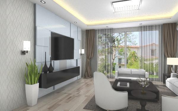 三居 客厅图片来自天津尚层装修韩政在天津雅颂居的分享