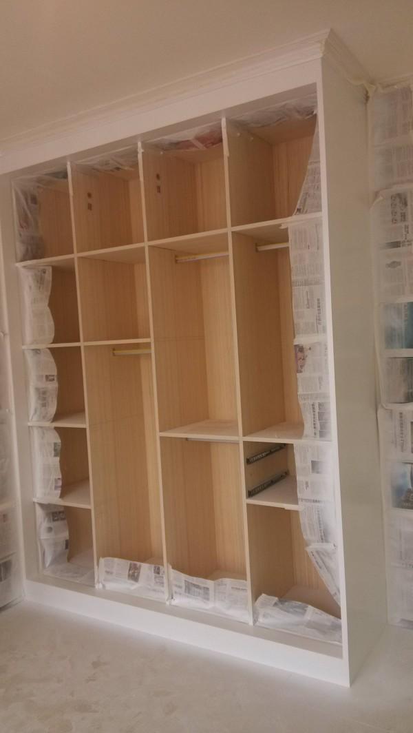 超凡装饰装修设计-升龙又一城简约装修设计-卧室里的衣柜