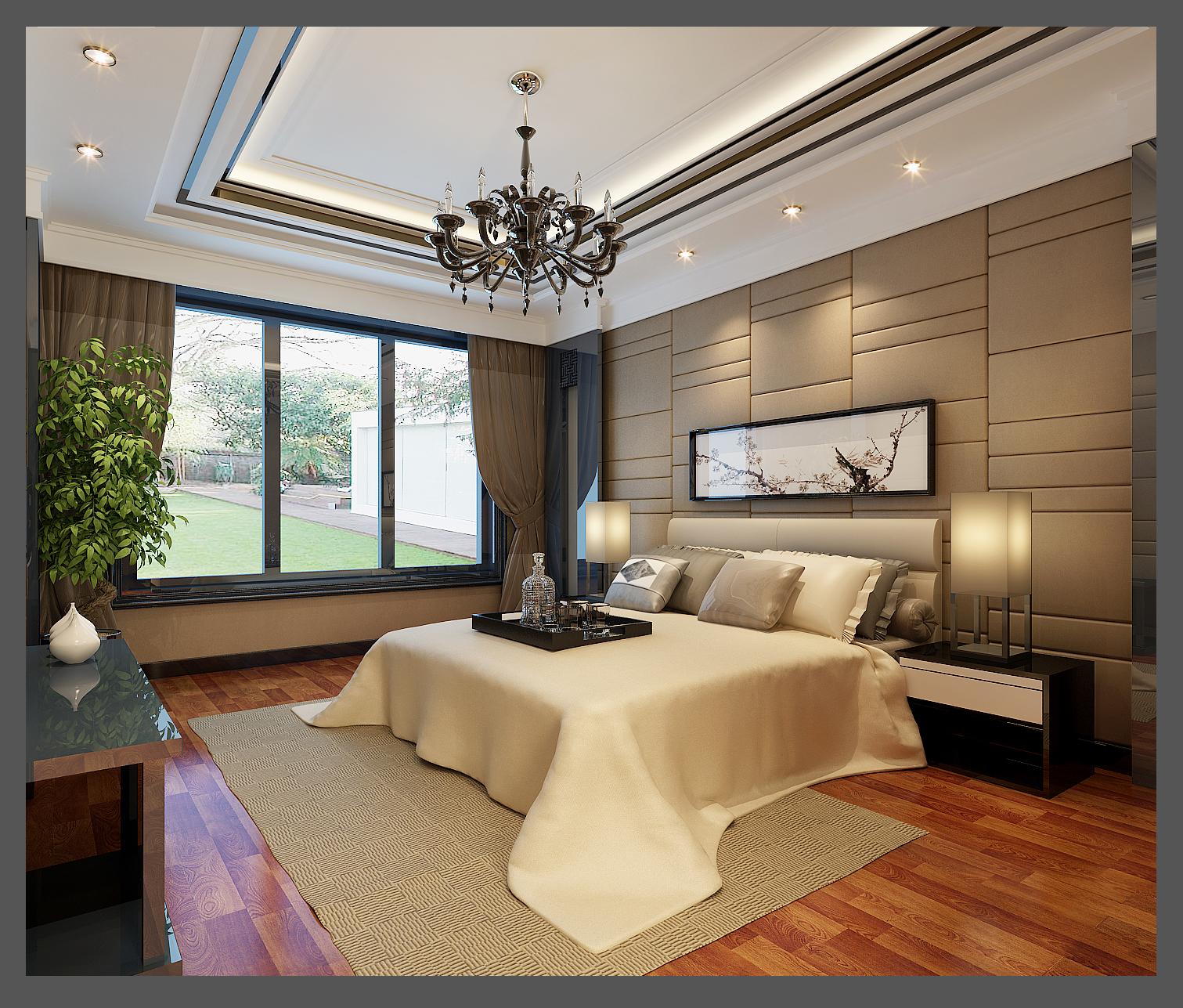 别墅装修 别墅设计 装修设计 尚层装饰 北京尚层 软装配饰 卧室图片来自北京别墅装饰在家的避风港的分享