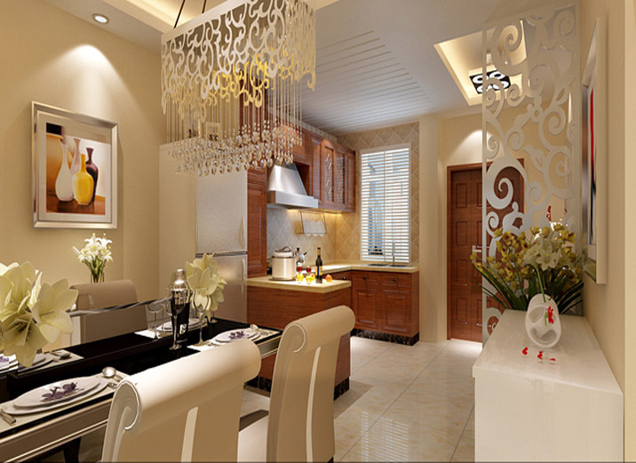 简约 二居 白领 80后 小资 宜家 舒适 温馨 餐厅图片来自实创装饰都琳在万寿庄路90平米简约宜家范的分享