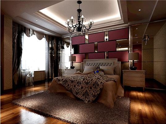 二居 欧式 收纳 旧房改造 小资 卧室图片来自刘建勋在两居室装修效果的分享
