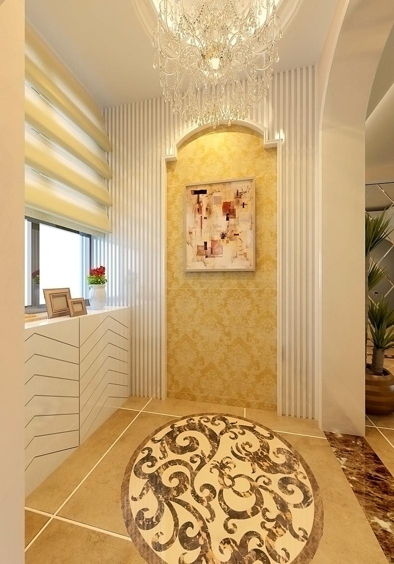 欧式 二居 旧房改造 升龙国际 80后 阳台图片来自今朝装饰老房装修通王在升龙国际-简约欧式风格的分享