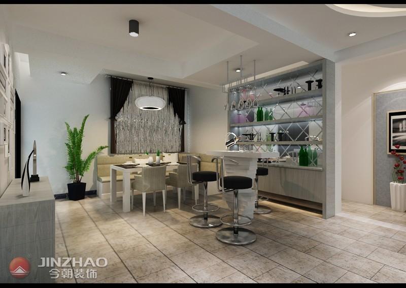 简约 餐厅图片来自阿布的小茅屋15034052435在和泰紫园168平米-现代简约的分享