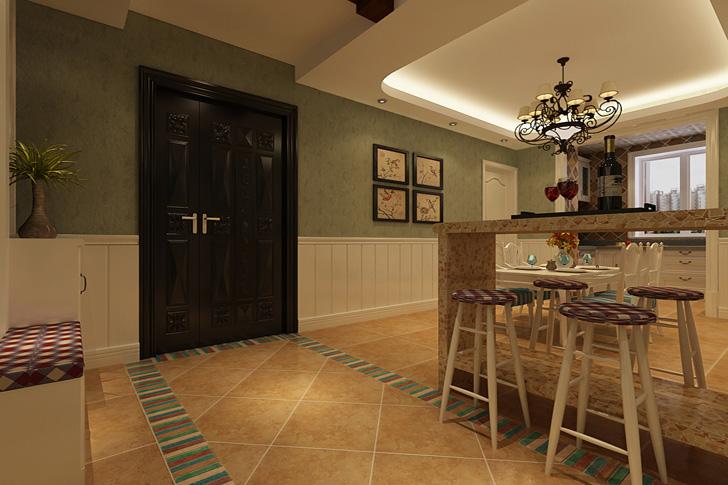 田园 三居 80后 小资 餐厅图片来自石家庄业之峰装饰在维多利亚140平米田园风格装修的分享