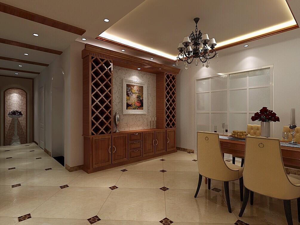 田园 餐厅图片来自郑州实创装饰-杨淑平在卢浮公馆温馨的美式田园风格的分享